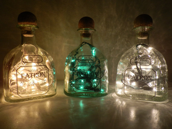 Lighted Patron Bottle