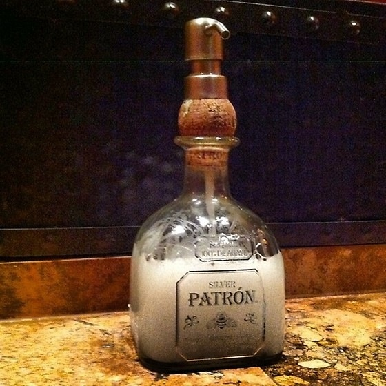 Patron Bottle Soap Dispenser